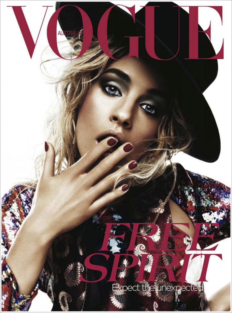 Vogue Australie Avril 2012 | Julia Frauche