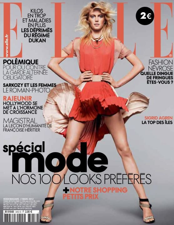 Elle France | Sigrid Agren