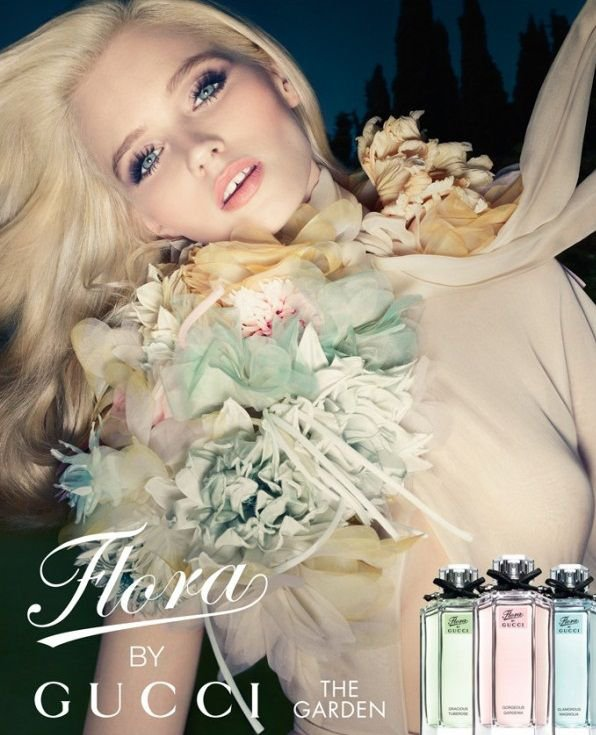 Abbey Lee Kershawn | Gucci Flora Fragrance