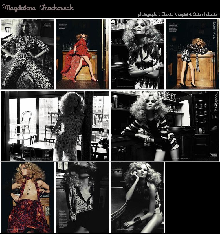 Vogue Russie Avril 2012 | Daphné Groeneveld