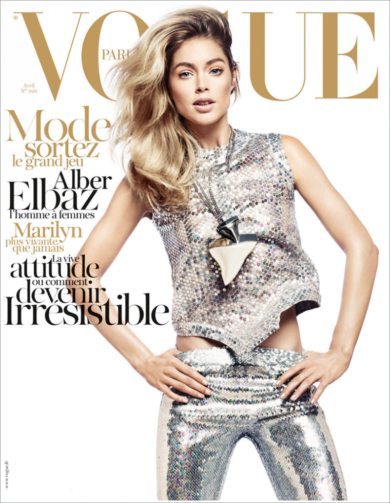 Vogue Paris Avril 2012 | Doutzen Kroes