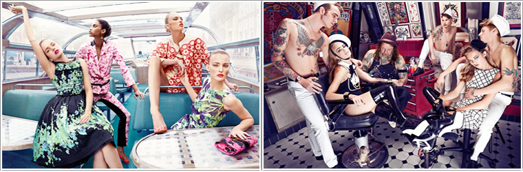 Vogue Pays-Bas Avril 2012 | Romee Strijd, Ymre Stiekema & Josefien Rodermans