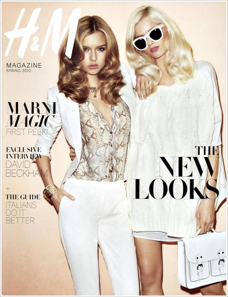 H&M Magazine Spring 2012 | Josephine Skriver & Abbey Lee Kershaw