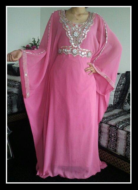 Robe Dubaï Rose