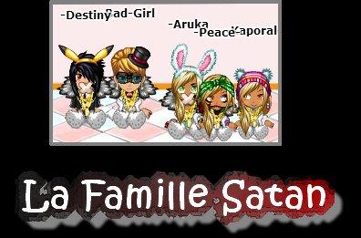 La Famille Satan ( Idée de Aru :3)