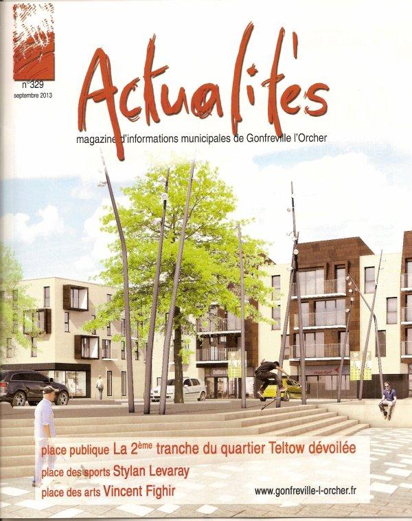 Couverture du magazine ACTUALITE