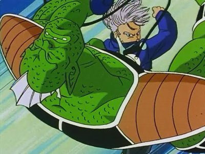 Trunks VS Les hommes de Freezer