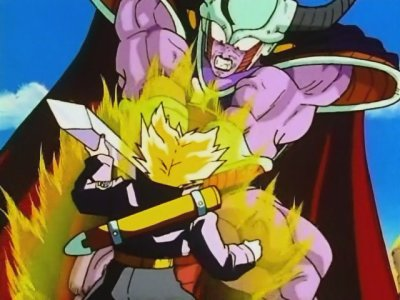 Trunks VS Le roi Cold