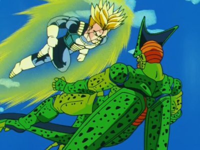 Trunks VS C-17, C-18 et Cell