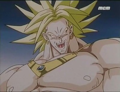 Broly super guerrier légendaire