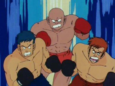 Boxeur de l'armée du ruban rouge
