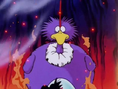 Oiseau mangeur de feu