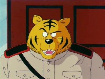 Soldat en chef de l'armée du ruban rouge