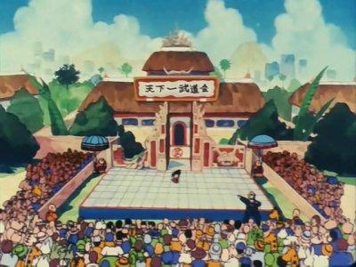 Stade du championnat du monde des arts martiaux