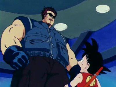 Sangoku VS Le sergent Métallique