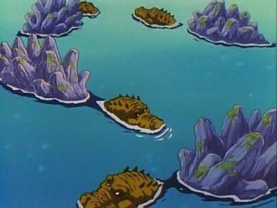 Crocodilles de la planète des géants