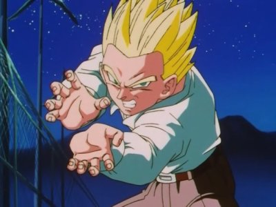 Sangohan super guerrier