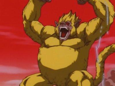 Sangoku gorille géant doré