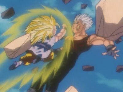 Sangoku VS Bébé Végéta (2ème round)