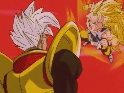 Sangoku VS Bébé Végéta (1er round)