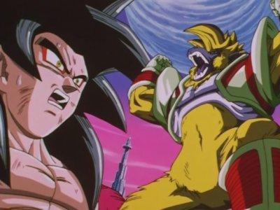 Sangoku VS Bébé Végéta (3ème round)