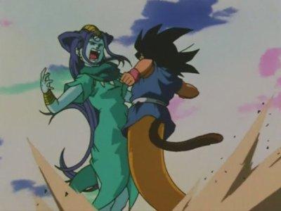 Sangoku et Pan VS Ryu Sheron