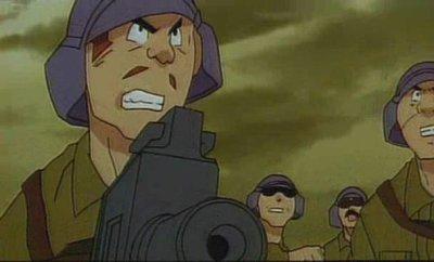 Soldats de l'armée du Ruban Rouge