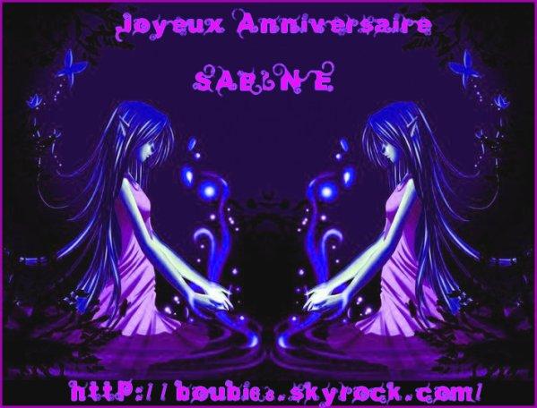 Joyeux Anniversaire Sabine Les Chats Du Bonheur