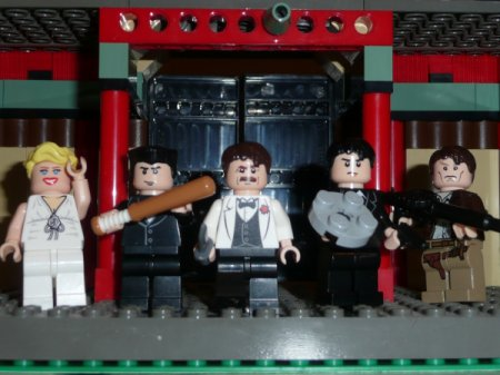 Inglorious Basterds en LEGO!!!!