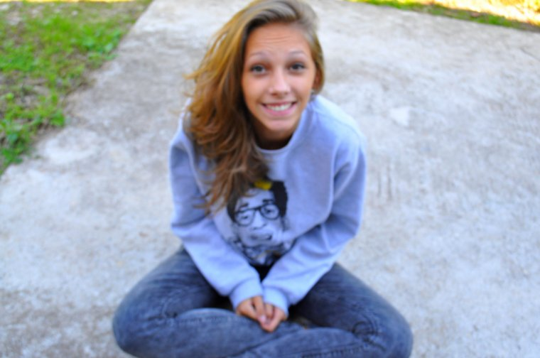 toujours garder le sourire, toujours.