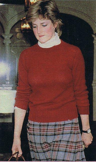 Lady Diana Spencer - 1980