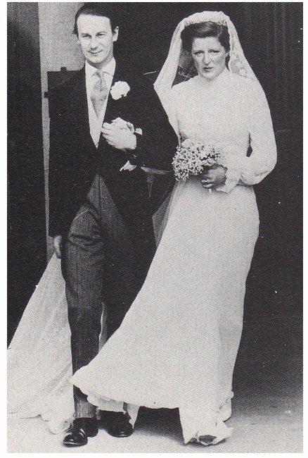 Wedding - Lady Jane Spencer , Baroness Fellowes - Mars 1978