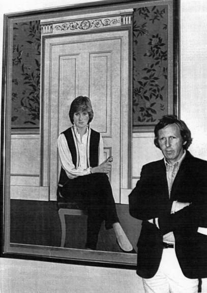 1er  Portrait  de Diana &  Visite du couple à la marine * Le  25 juillet  1981 *