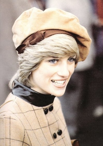 Diana visite Barmouth, Wales. _ le 25 novembre  1982