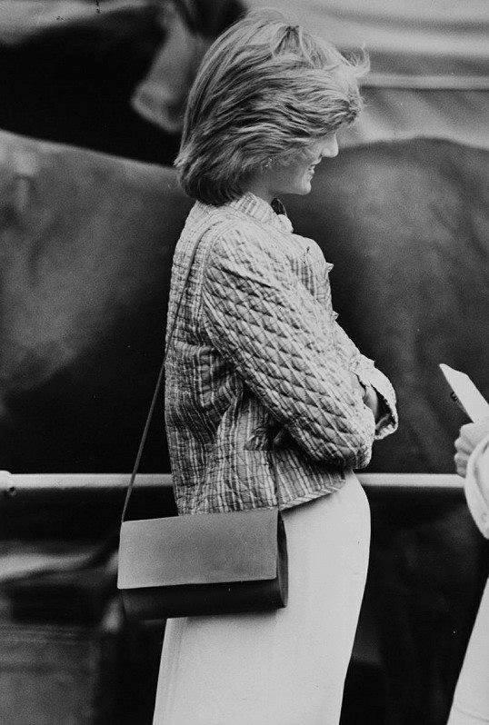 Diana , Au Windsor Castle - le 29 Mai 1983