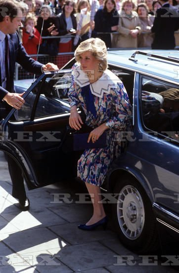 Princess Diana - The Albany Centre à  Deptford , le 23 mai 1984