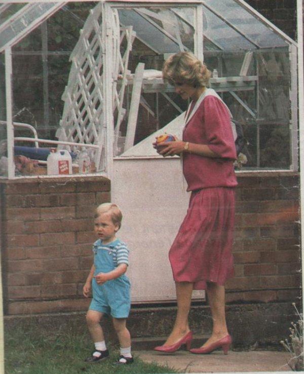 Prince William Deux Ans , le 12 Juin 1984