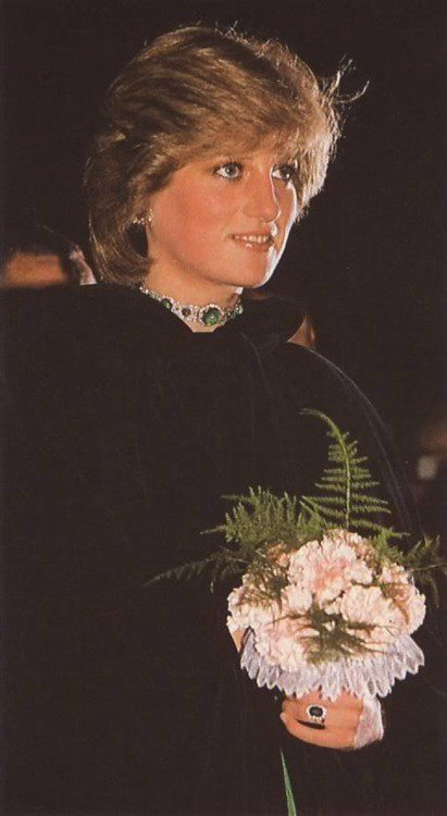 Wales Welcomes New Princess _ 26 Octobre 1981
