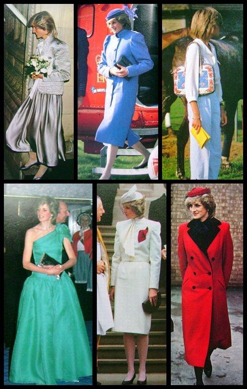 """"""" Images d'une princesse & Différentes tenues des années  80 et 90 """""""