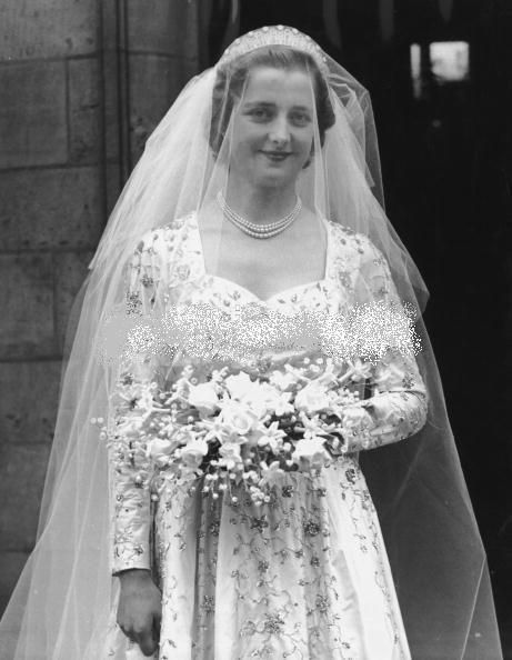 Wedding of Viscount  John Spencer & Lady Frances Ruth Fermoy  _