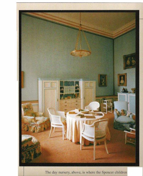 """"""" 1975 """" _  La famille Spencer enméagent  à  Althorp House"""