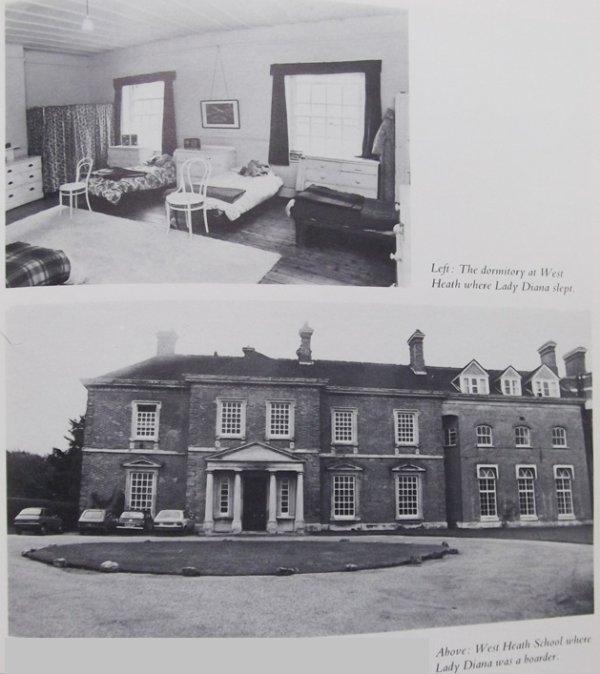 1971 -   Diana  10 ans et Charles 07 ans _ & _ West Heath