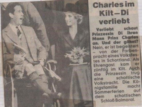 THE BRAEMAR HIGHLAND GAMES  , le 07  Septembre 1985