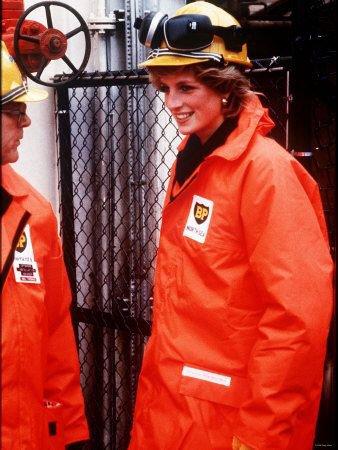 Diana , Princess of Wales - BP Forties' Charlie Platform Tour , le 03 septembre 1985 _ Suite