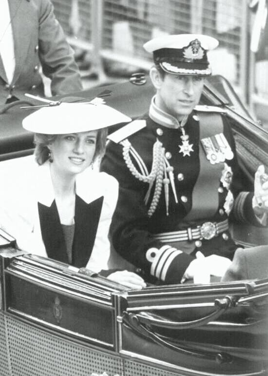 Diana & Charles , King  Juan Carlos & Queen Sofia of Spain
