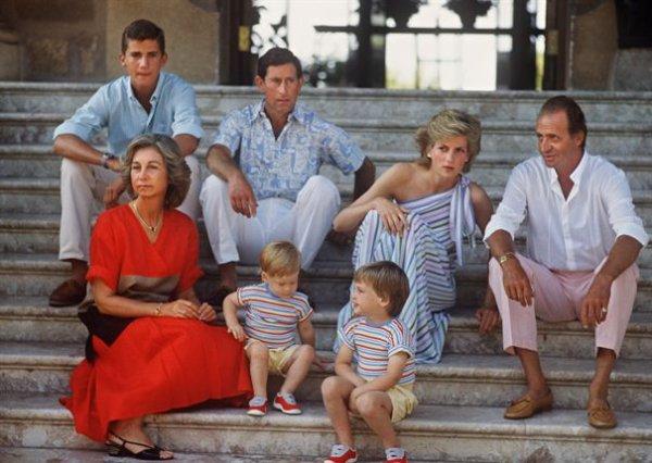 Diana & Charles ,les enfants à Mallorca - Aout 1986 _ Suite