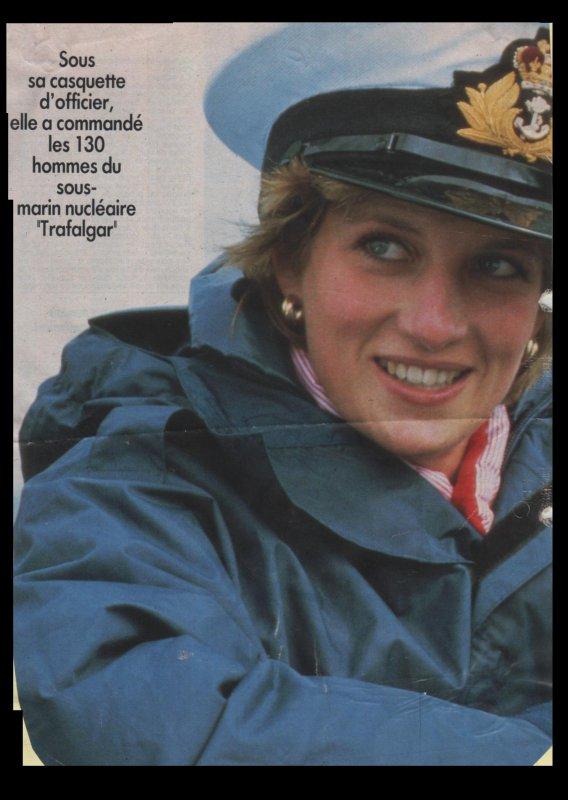 """Diana et le sous -marin """" Hms Trafalgar"""" / suite"""