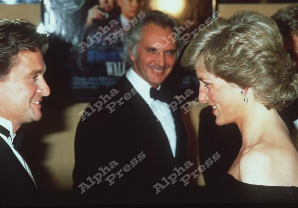 The premiere of Oliver Stone's film 'Wall Street', _ 27  Avril 1988