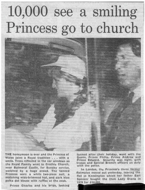 Diana & Charles  à Balmoral