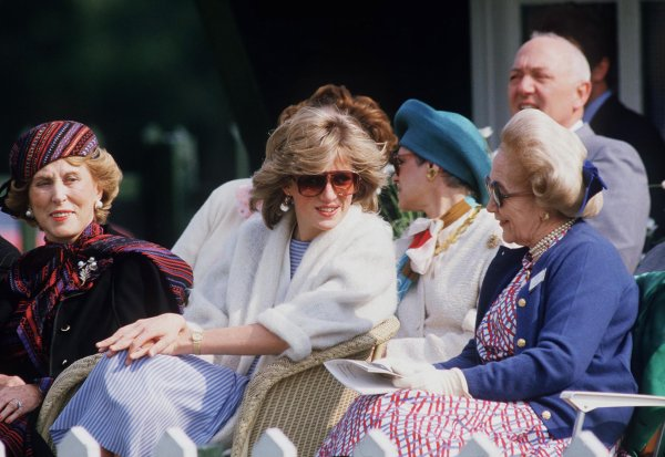 Princess Diana - Polo Smith's Lawn Windsor, le 24 Mai 1984